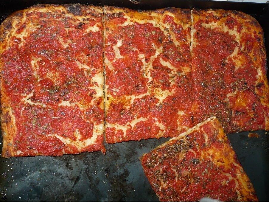 Pizza Casereccia (zu Hause gemacht)