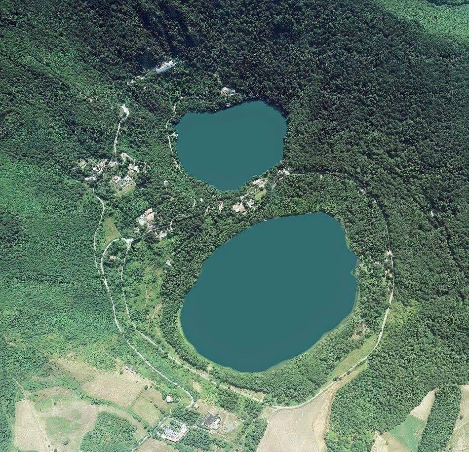Unsere beiden Vulkanseen Laghi di Monticchio