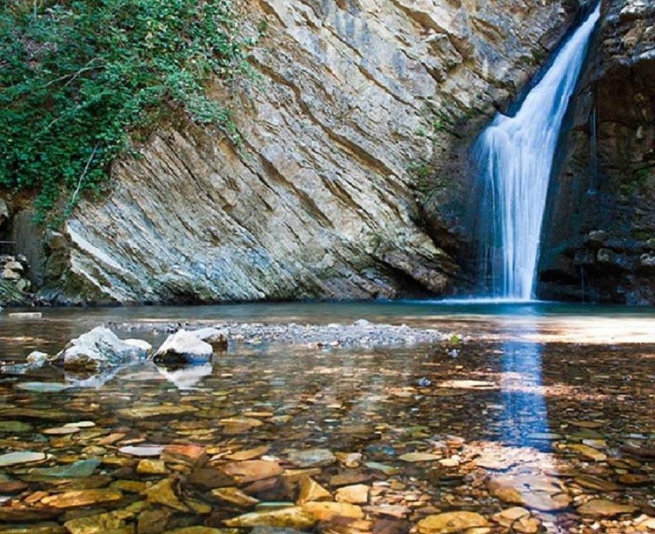 Unser Fluss Bradano in Lucania